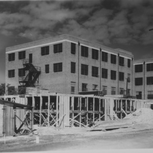 Large Building Under Construction