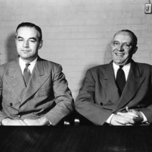 Dr. Ralph W. Cummings and Dean James H. Hilton