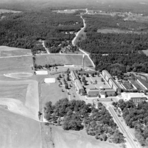 Aerial view of Meredith College