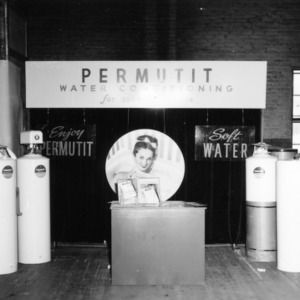 Permutit Company Water Conditioning Exhibit booth during Farm and Home Week