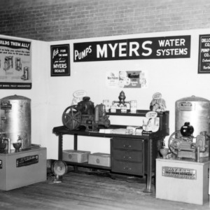 Myers Pumps Exhibit at Farm and Home Week