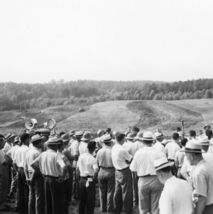Farm and Home week: land preparation demonstration