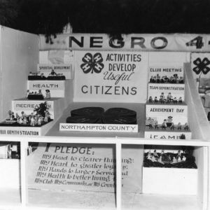 African American 4-H display at NC State Fair