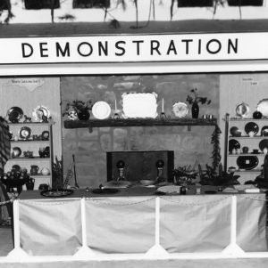 Home Demonstration's handicraft exhibit at NC State Fair
