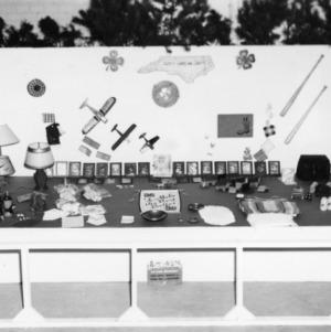 4-H Club Crafts exhibit at NC State Fair