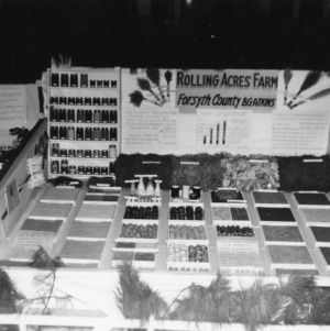 Rolling Acres Farm exhibit at NC State Fair