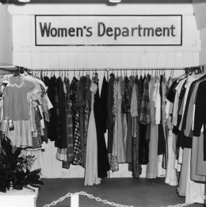 Women's Department Clothing exhibit at NC State Fair