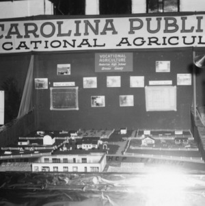 Vocational Agriculture exhibit at NC State Fair