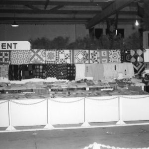 Women's Department exhibit at NC State Fair