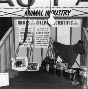 Animal Industry exhibit at NC State Fair