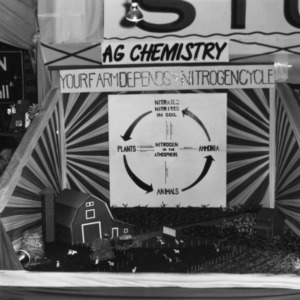 Agriculture Chemistry exhibit at NC State Fair
