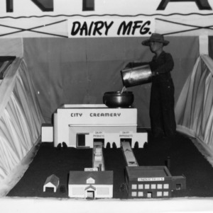 Dairy Manufacturing exhibit at NC State Fair