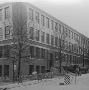 Riddick Engineering Laboratories Building under construction
