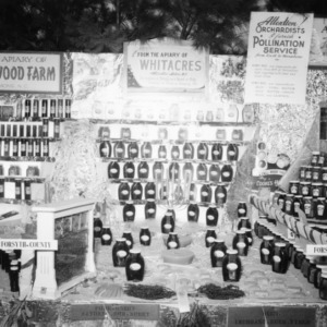 NC State Fair exhibit booth on the Apiary of Whitacres