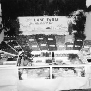 "NC State Fair exhibit booth on ""The Lane Farm"""