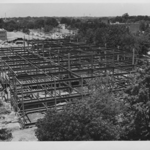 New library building under construction