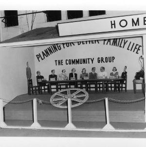 North Carolina State Fair, Home Demonstration Exhibit