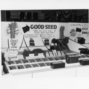 North Carolina State Fair, Agronomy Exhibits, Corn, Peanuts, Soy beans, Small Grain