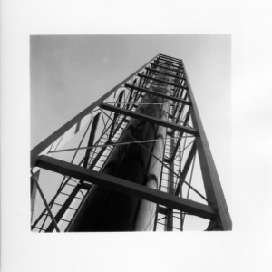 Angular View of Nuclear Reactor Stack