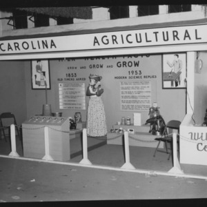 N. C. State Fair: Home Demonstration Booths