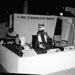 African American Home Demonstration booth at N. C. State Fair