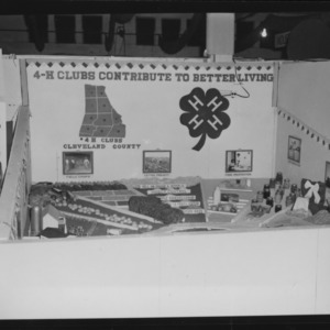 African American 4-H booths at N. C. State Fair