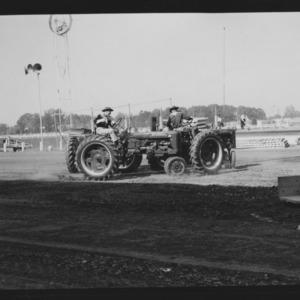 N. C. State Fair: Tractor Square Dance at Fair