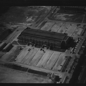 Aerial Photo of N.C. State College, February 1954