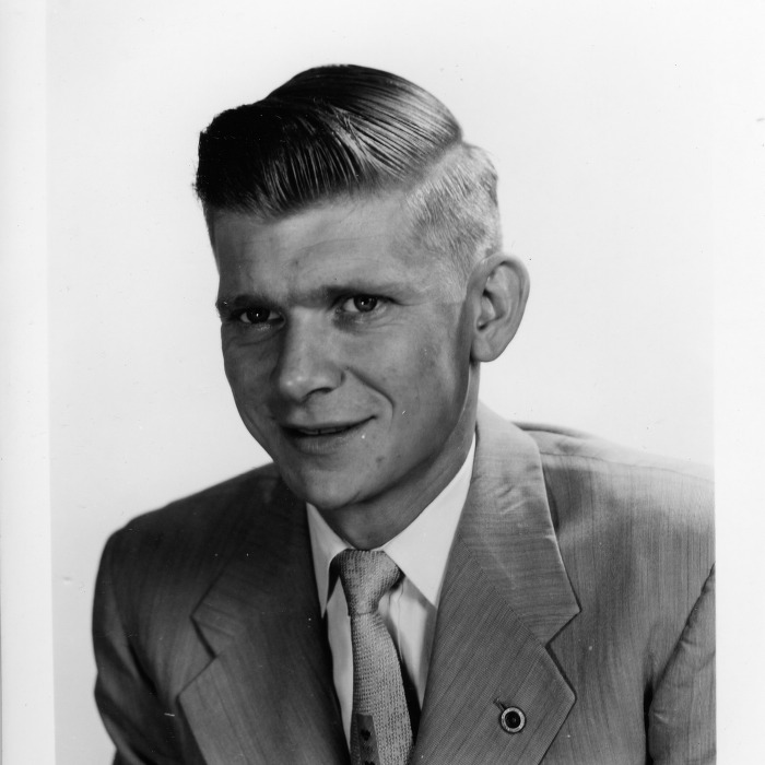 Portrait of John F. Williams, May 1954