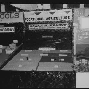 NC State Fair, October 1954: Vocational Agriculture Green Bethel High School, Cleveland County