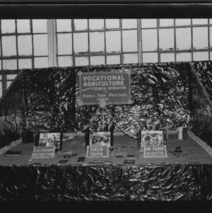 NC State Fair, October 1954: Vocational Agriculture Converts Technical Information to Usable Farm Practices Though