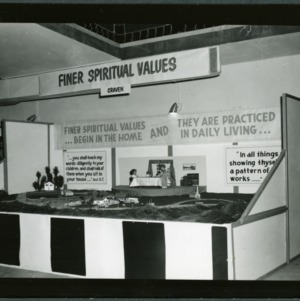 NC State Fair, October 1954: Challenge Booths