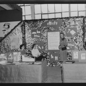 NC State Fair, October 1954: P.T.A. Booth