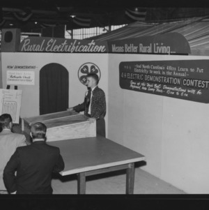 NC State Fair, October 1954: 4-H, Mr. Coates