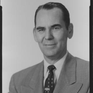Dr. Walter J. Peterson portrait