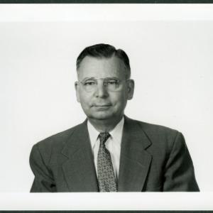 Dr. H. Arlo Stewart portrait