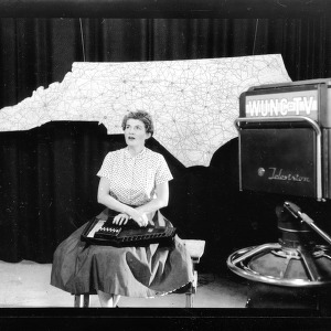 Betty Vaiden Williams, Ballad singer in UNC-TV studio