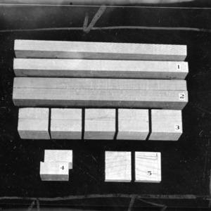 Wood glue tests; thesis