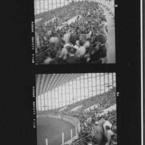 Event inside Dorton Arena at NC State Fair