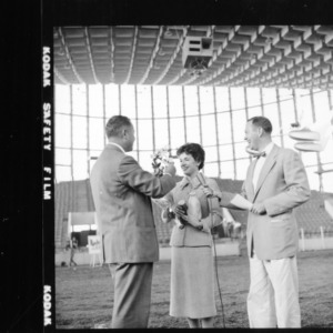 Actress Polly Bergen at NC State Fair