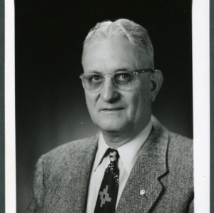 Clinton F. Parrish portrait