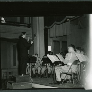 Band concert at Pullen Hall