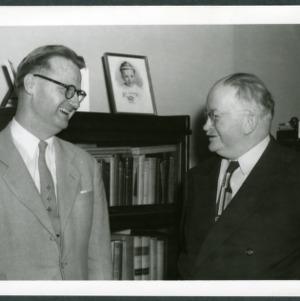 Deans Edward L. Cloyd and Gerald O. T. Erdahl