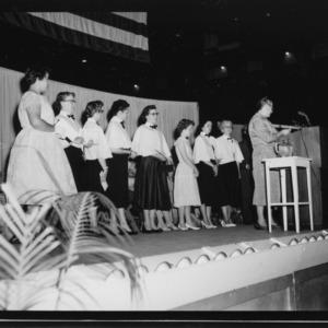Farm and Home Week; Women's chorus