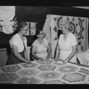 "Farm and Home Week; ""The Fine Art of Quilting"" by Flora MacDonald"