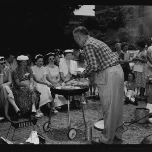 Farm and Home Week; Outdoor Cookery by Charles Stott