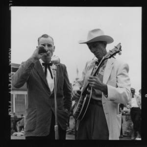 N. C. State Fair: Folk music Mr. Lunsford
