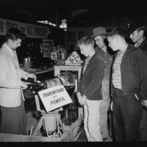 N. C. State Fair: Student Engineering Exhibits