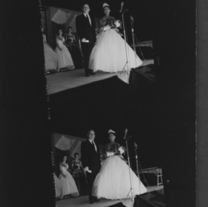 N. C. State Fair: N.C. Dairy Maid and L.Y. Ballintine; Miss North Carolina Dairy Princess, Miss Patricia Lee Simonds of New Bern