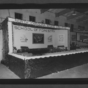 School of Forestry booth at State Fair